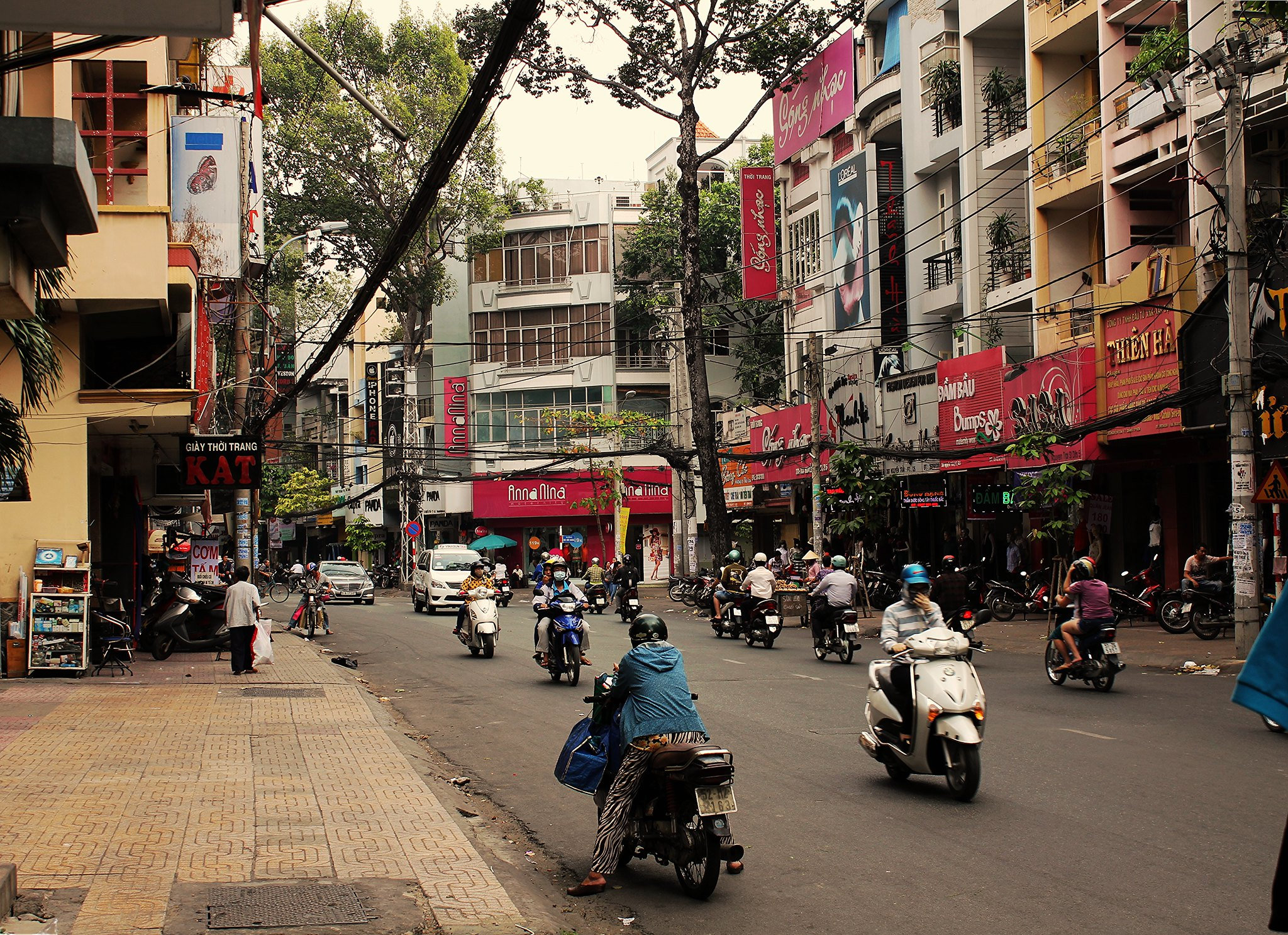 Vietnam's busy streets!