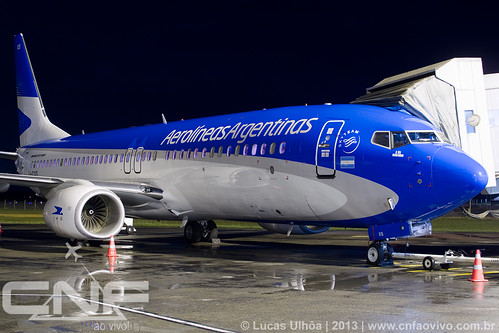 Boeing 737-800 Aerolíneas Argentinas LV-CXS