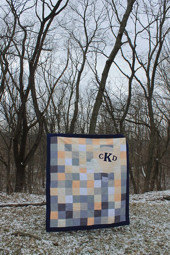 Hot Air Balloon Monogram Quilt