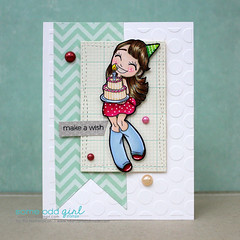 Big Wishes Mae Digi Stamp by Heart for Handmade