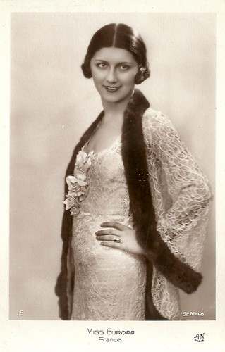Miss Europe 1931: Jeanne Juilla