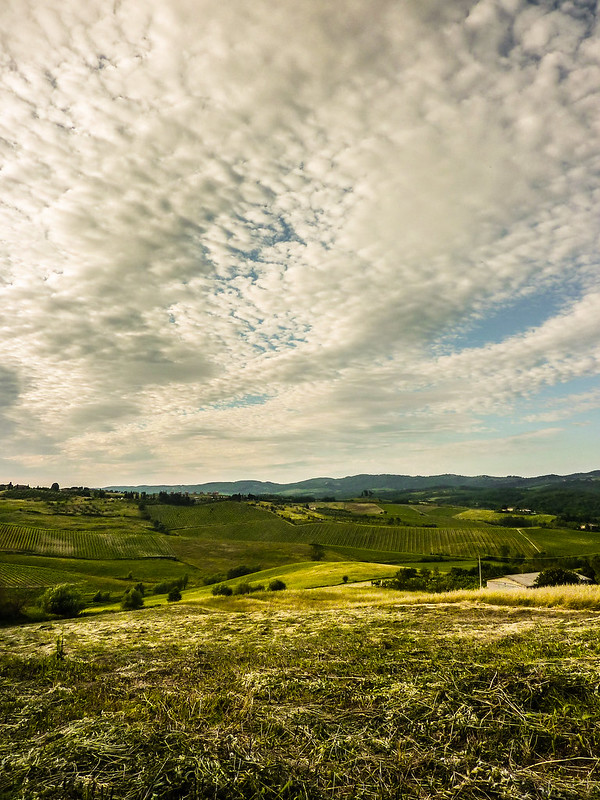Clouds, Tuscany, Italy