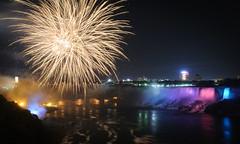 Firework @ Niagara Falls by photofalk