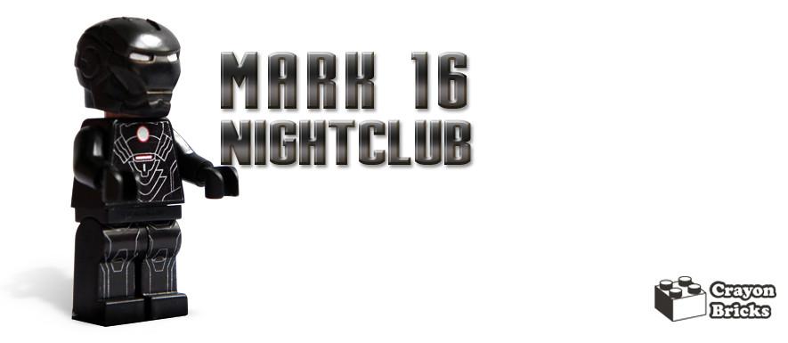 Iron Man Mark 16 Nightclub Iron Man Mark 16