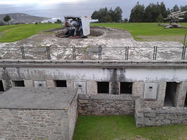 Batería Militar en el Parque Forestal de Monticaño