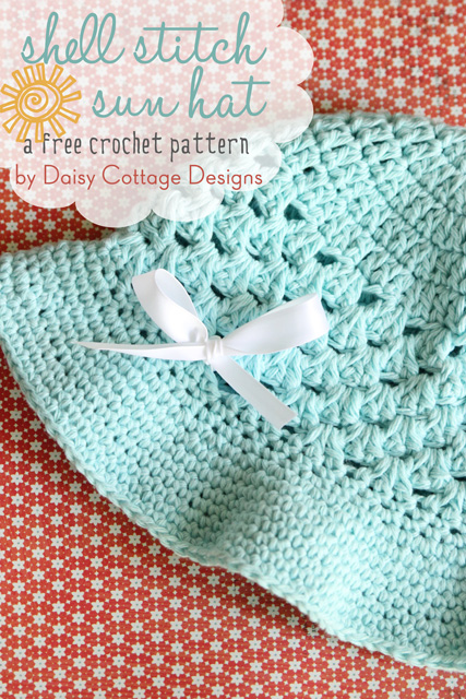 Crochet Hat Pattern For Summer Daisy Cottage Designs