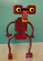 Roberto, the Criminally Insane Manbot by Legopold