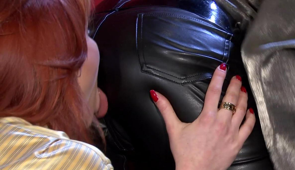 Mature leather spanking gay xxx after all 7