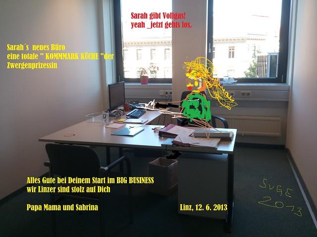 alles gute im neuen büro.