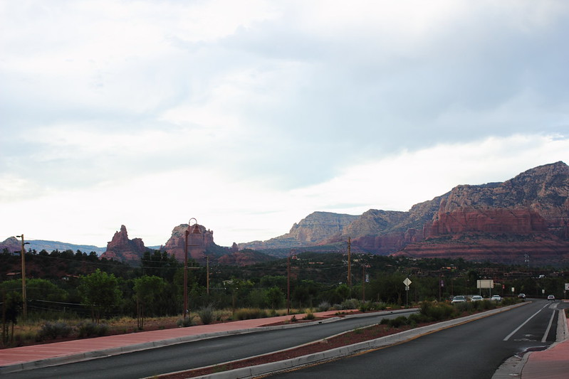 Road from Sedona
