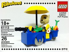 Bonnie Bunny's Tactical Produce Cart by D-Town Cracka