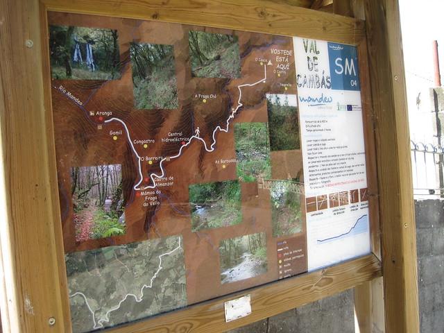 Panel Informativo de la ruta Val de Cambás
