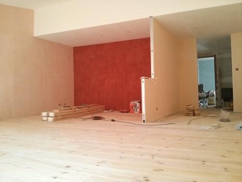 Wooden floor in the living room #app3