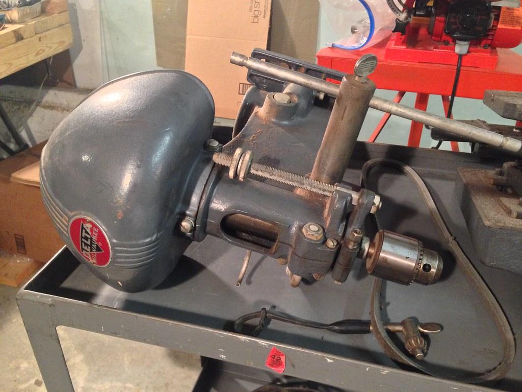 Project: 1948 Rockwell Delta Milwaukee DP220 Drill Press ...