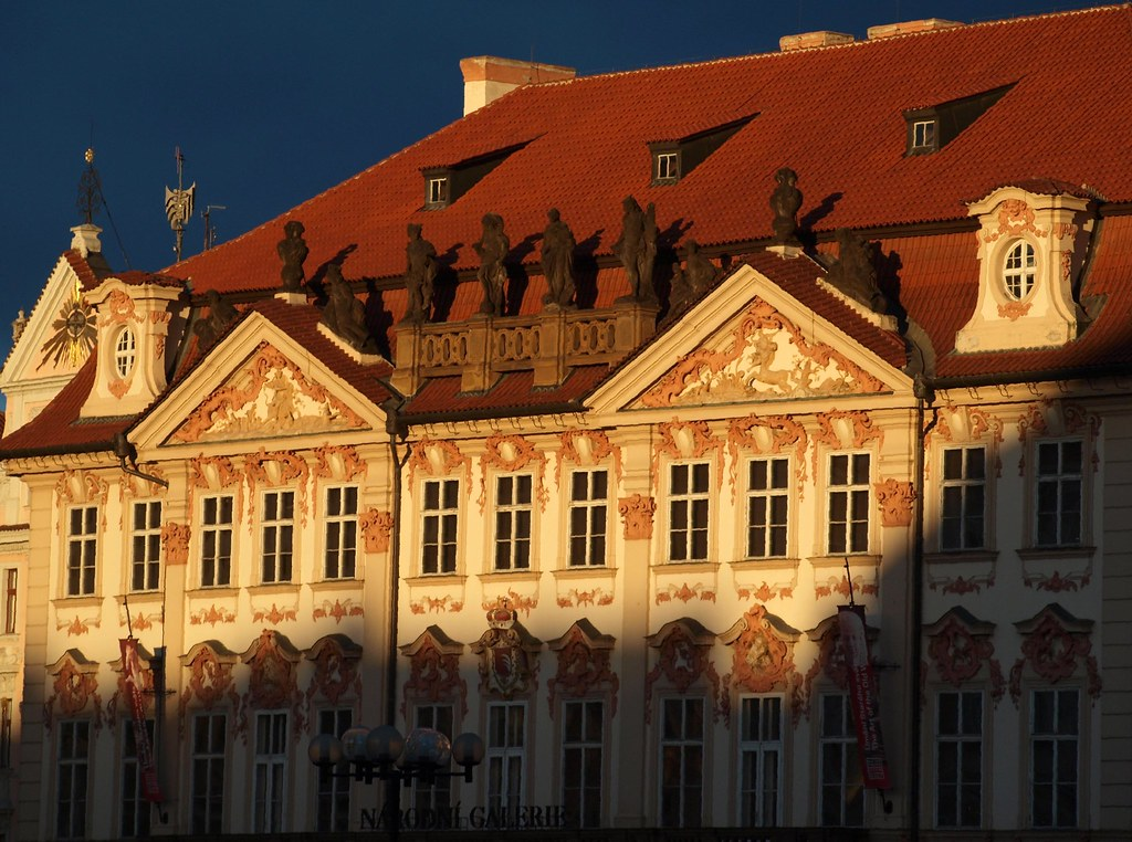 Narodni Galerie Prague Narodni Galerie Evening