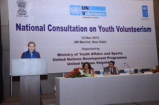National Consultation on Youth Volunteerism | by UNDP in India