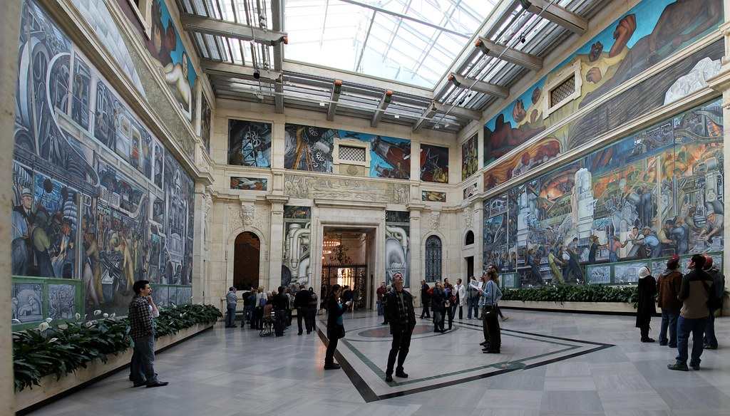 The other side of metro detroit pics for Diego rivera mural detroit institute of arts