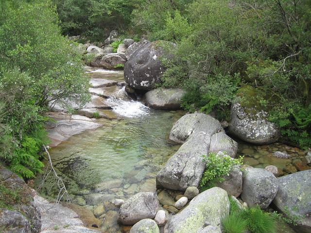 Río Vilameá en el Sendeiro do Río Vilameá en el Xurés