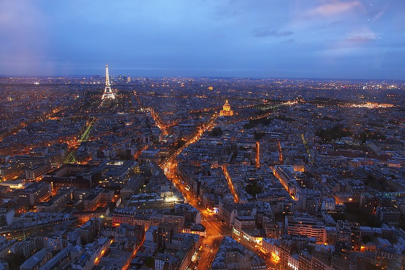 Paris skyline, France