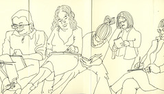 2014.03.08 7 Oxford JKPP Meetup - Andrew, Jane S, Susanne, Maureen, Jill by Julia L. Kay
