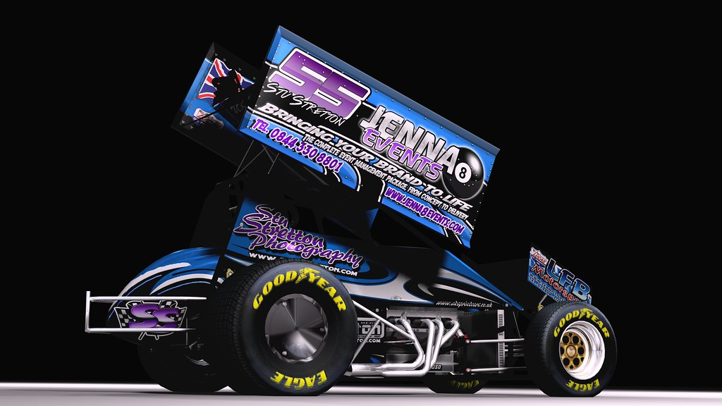 Sprint Car Graphics Design Stretton Sprint Car Design