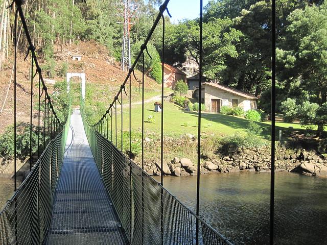 Puente Colgante sobre el Tambre