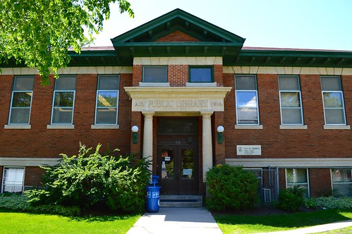 The Cornish Library at 20 West Gate was one of four Manitoba libraries to be built with funding from the Carnegie Corporation. Photo courtesy of the Winnipeg Public Library.