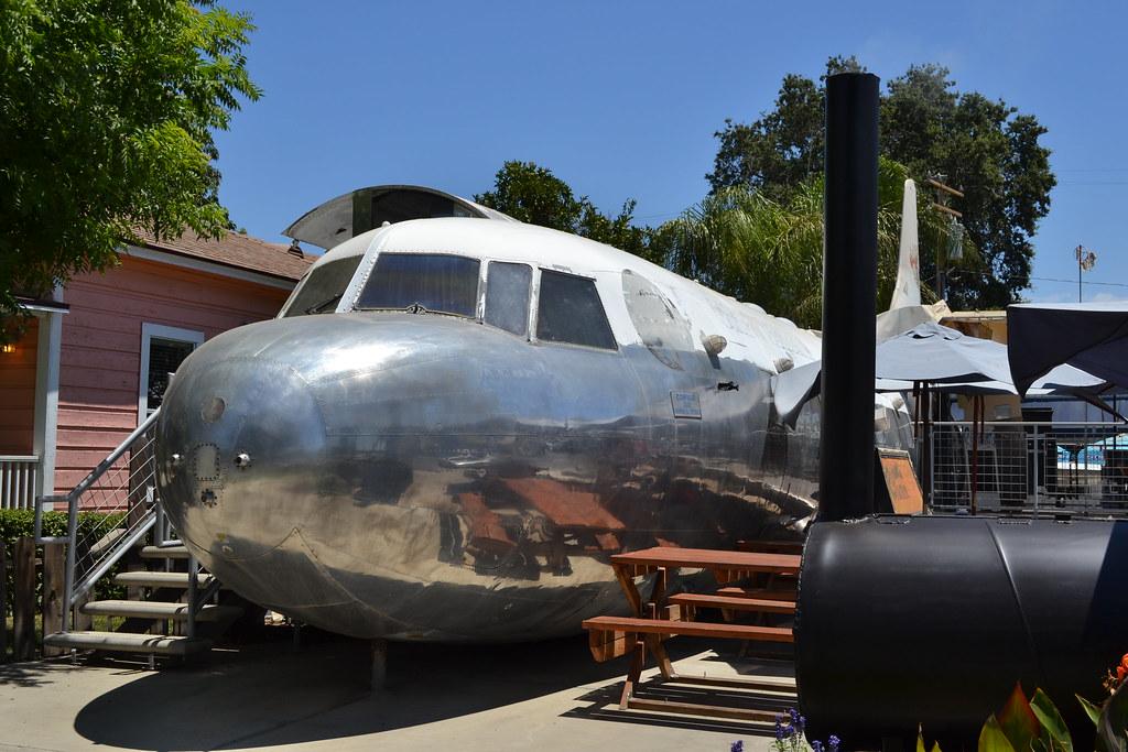 Tulare airplane restaurant flickr for Abbott california cuisine