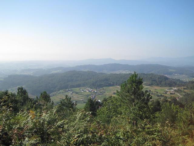 Vistas en el PR-G 171 Ruta do Río San Martiño