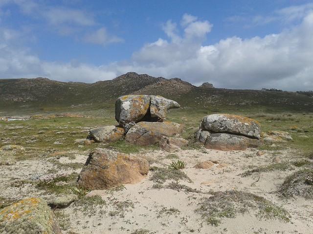 Pedra do Oso en Camariñas
