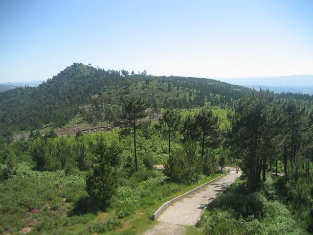 Monte Lobeira en Vilagarcía