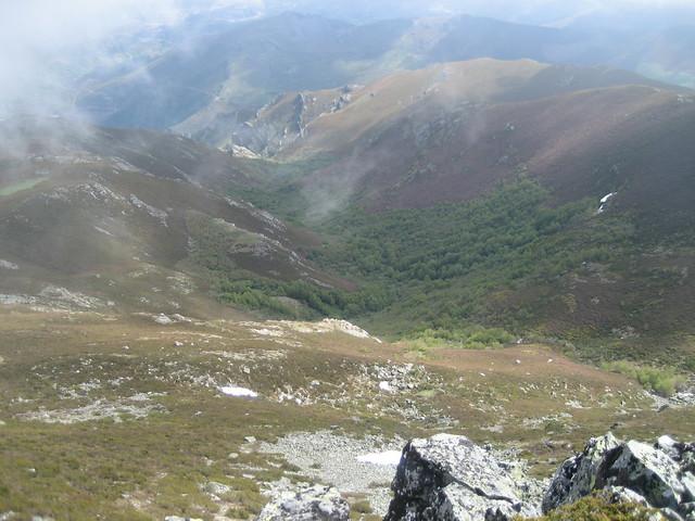 Vistas desde Maluro en la Ascensión a Pena Trevinca