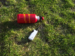 Trangia fuel bottle & handy wee lighter by Alan 13-7