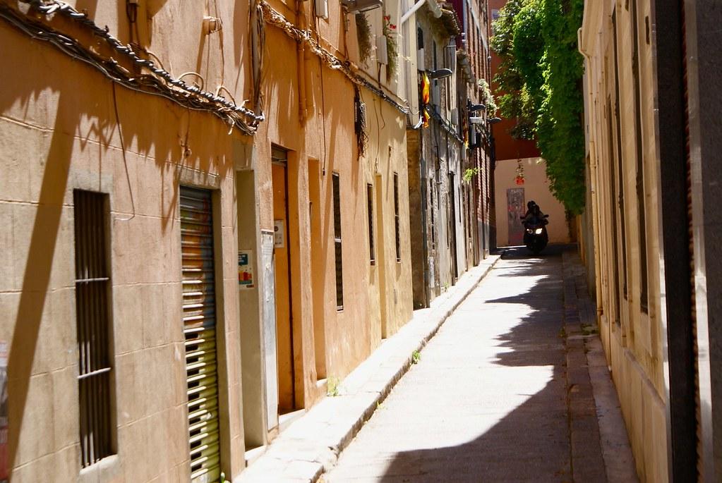 Dans les ruelles de l'ancien village d'Horta à Barcelone.