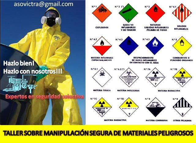 Taller materiales peligrosos