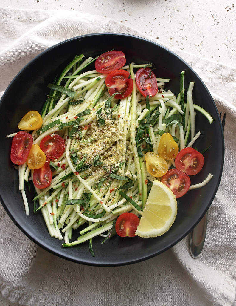 Simple Zucchini Pasta Salad