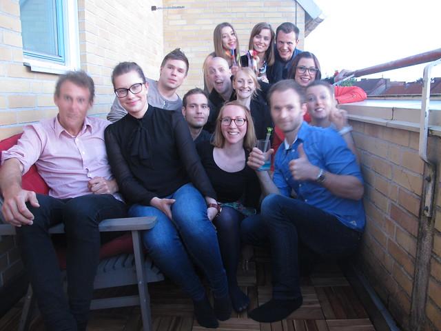 friday, drinks at david's, helsingborg