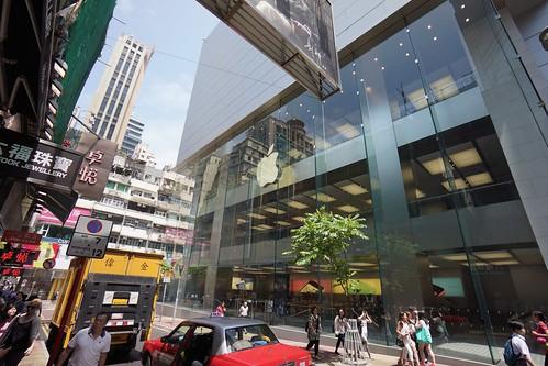 香港2014(夏) - 銅鑼灣 - Apple Store (1)