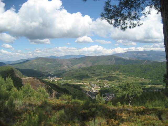 Rubiá en el PR-G 144 Ruta Natural dos Castros e Nivieira