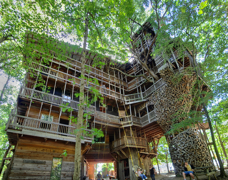 Minister's Tree House, Crossville, Cumberland County, Tennessee 1