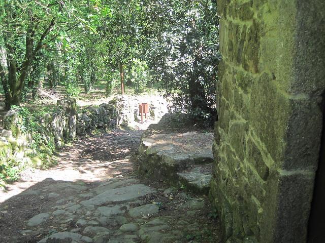 Molinos de Meis en el PR-G 170 Ruta da Pedra e da Auga