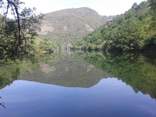 Río Mao en Parada de Sil