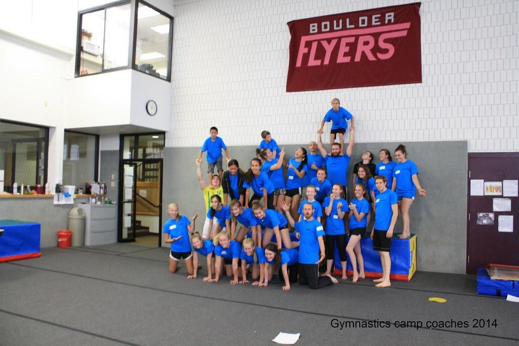 Gymnastics Camp Flyer Gymnastics Summer Camp 2014