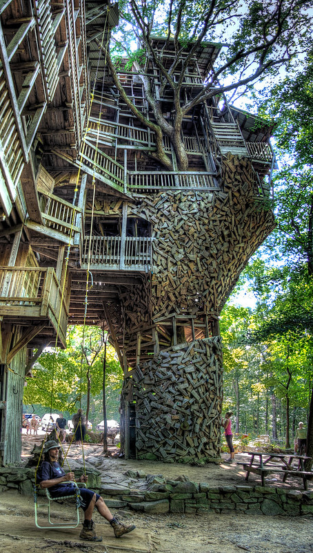 Minister's Tree House, Crossville, Cumberland County, Tennessee 2