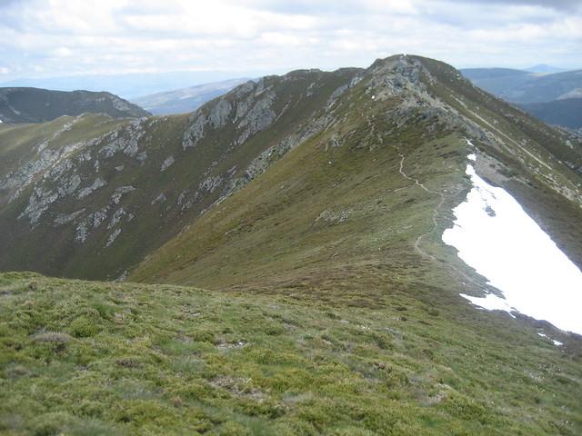 Lombo do Roncín en la Ascensión a Pena Trevinca