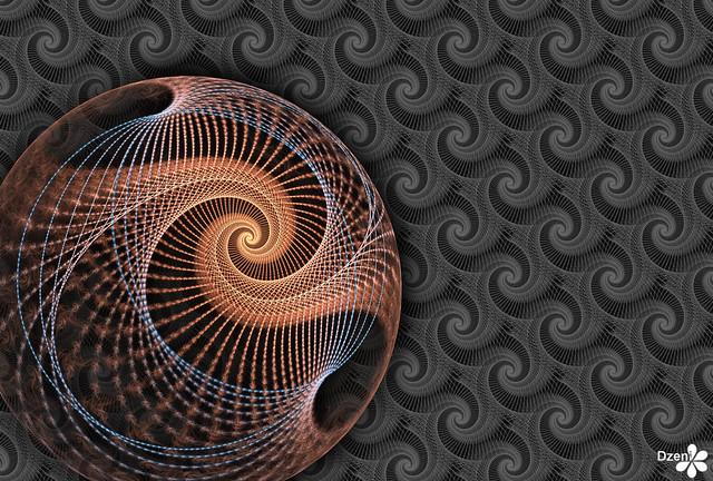 String Spiral Sphere
