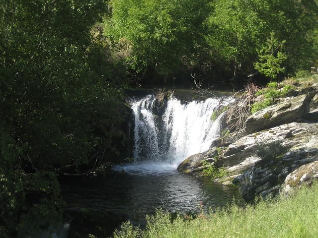Cascada en la Ruta Castelo da Cerveira