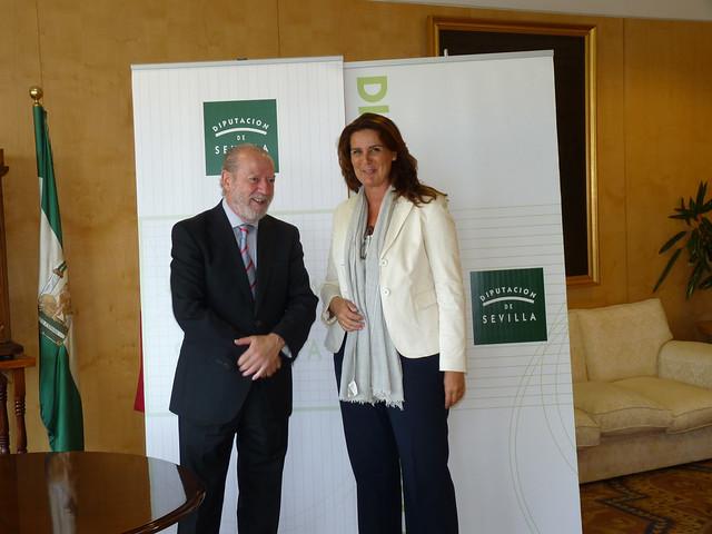 30/07/2014 Convenio de Colaboración Diputación de Sevilla y La Fundación Tres Culturas del Mediterráneo