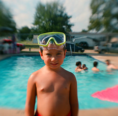 Seth at the Pool