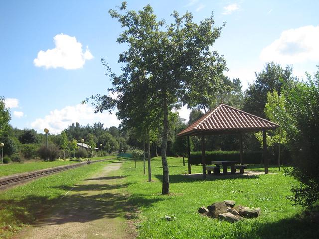 Área Recreativa Estación de Pontraga - Ordes